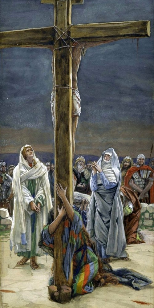 Mary and John at the Cross, James Tissot